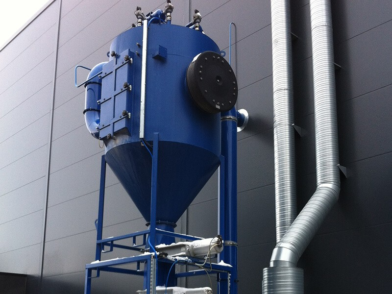 Industrial Central Vacuum Dust Collectors