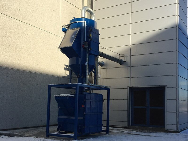 Pulse Jet Dust Collector for Industrial Vacuum Cleaner