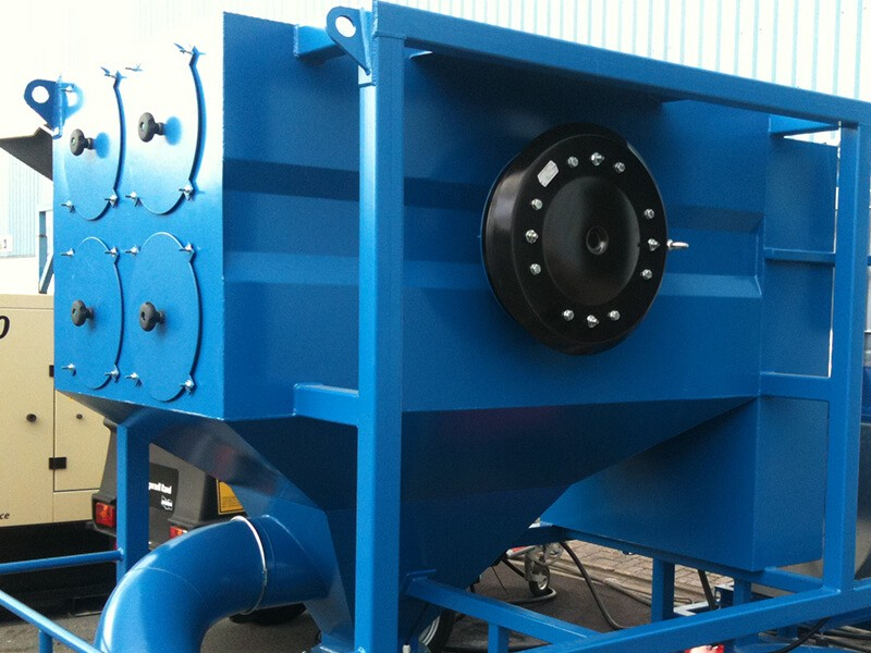 Cartridge Dust Collector mobile