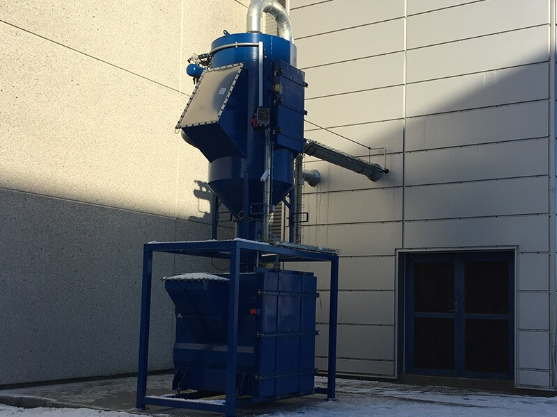 Dust Collector for Abrasives Industry