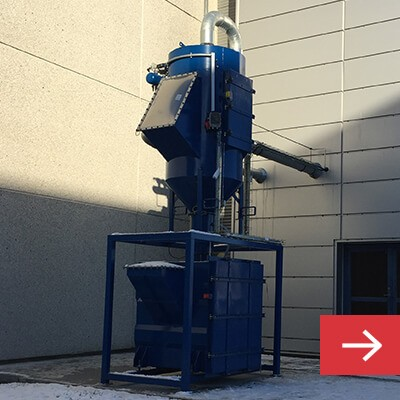 Dust Collector for Industrial Vacuum Cleaner