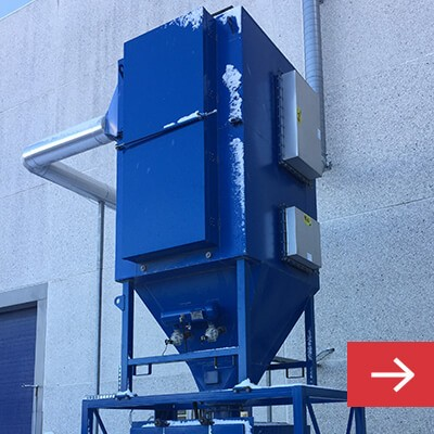Dust Collectors for Abrasive Dust