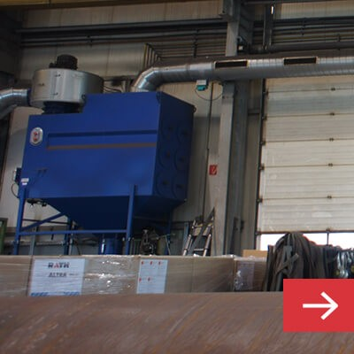 Push Pull Dust Collector