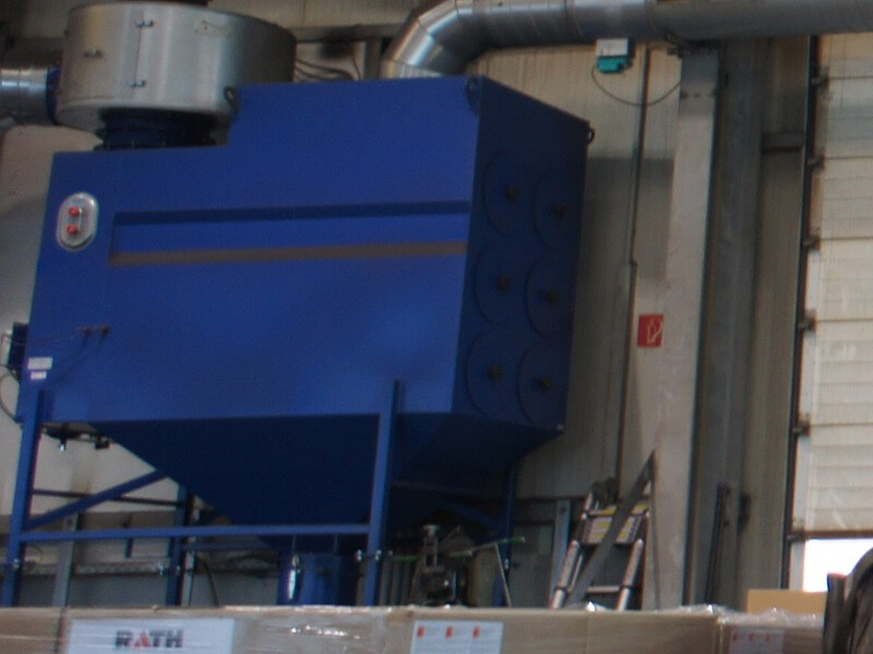 Push Pull Ventilation Dust Collector