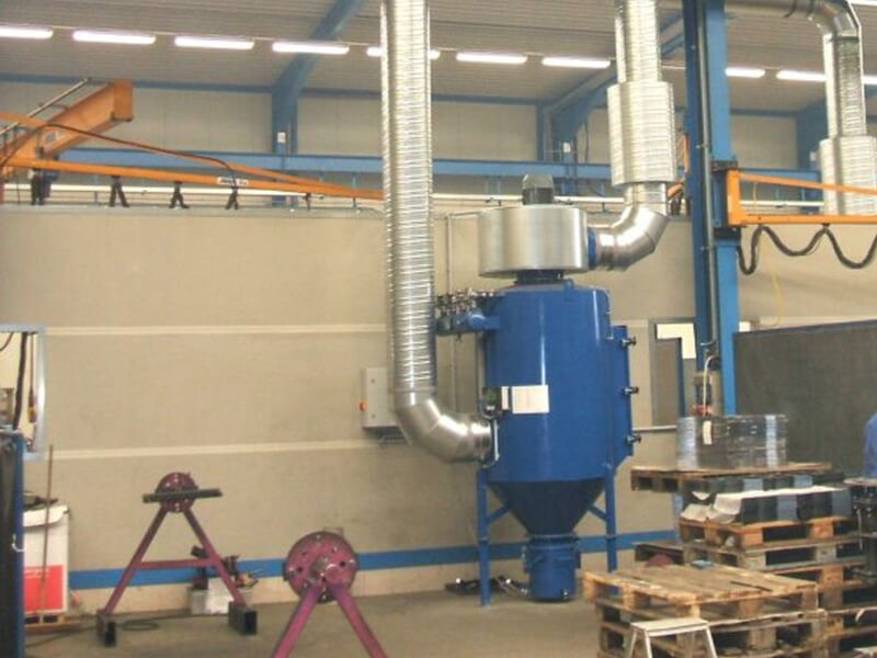 Push and Pull Dust Collector