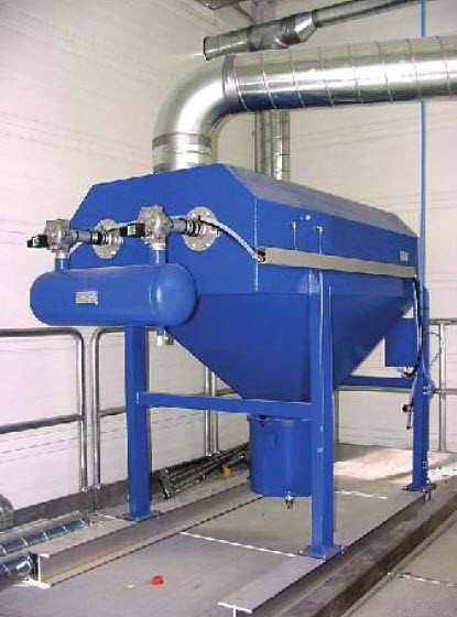 CARTRIDGE dust collector PIDCLEAN - Installed at factory