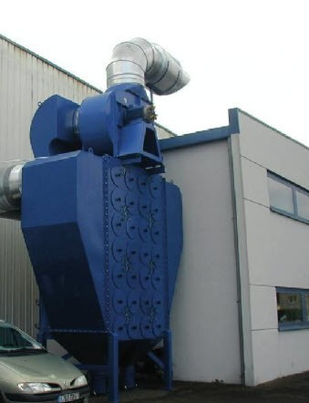 Cartridge dust collector X JUMBO - Application