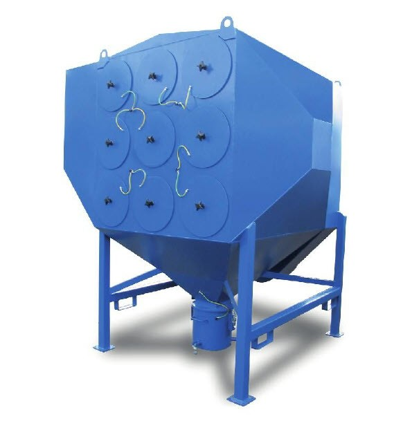 Cartridge dust collector X JUMBO - Blue